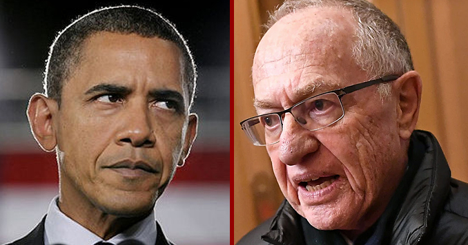 Harvard Law School professor Alan Dershowitz: I Have Proof Obama Ordered FBI Investigation At Request Of George Soros